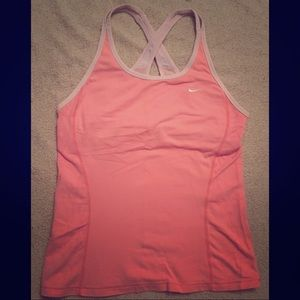 Nike activewear cross-back tank